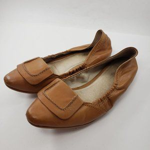 Elizabeth and James   Kimi Tan Pointed Flats Shoes